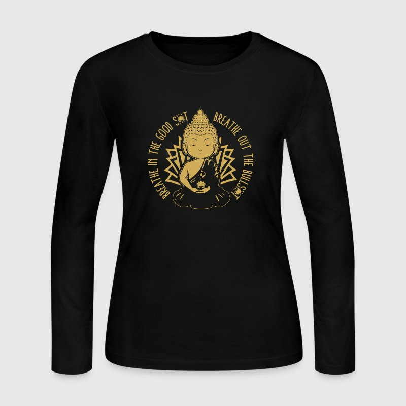 Buddha Shirt - Women's Long Sleeve Jersey T-Shirt