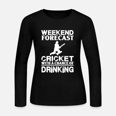 Sri Lanka Weekend Forecast Cricket - Women's Long Sleeve Jersey T-Shirt