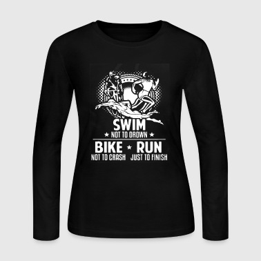 Swim Shirt - Women's Long Sleeve Jersey T-Shirt