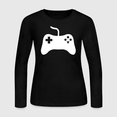 Gaming Console - Women's Long Sleeve Jersey T-Shirt