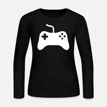 Console Gaming Console - Women's Long Sleeve Jersey T-Shirt