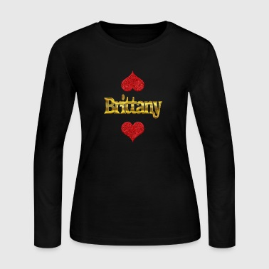 Brittany Brittany - Women's Long Sleeve Jersey T-Shirt