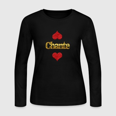 Chante - Women's Long Sleeve Jersey T-Shirt