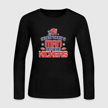 WITH TWO KICKERS - Women's Long Sleeve Jersey T-Shirt