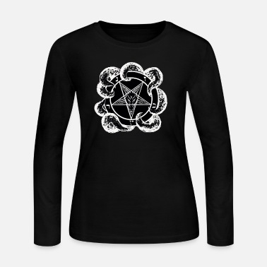 Satanic satan  - Women's Long Sleeve Jersey T-Shirt