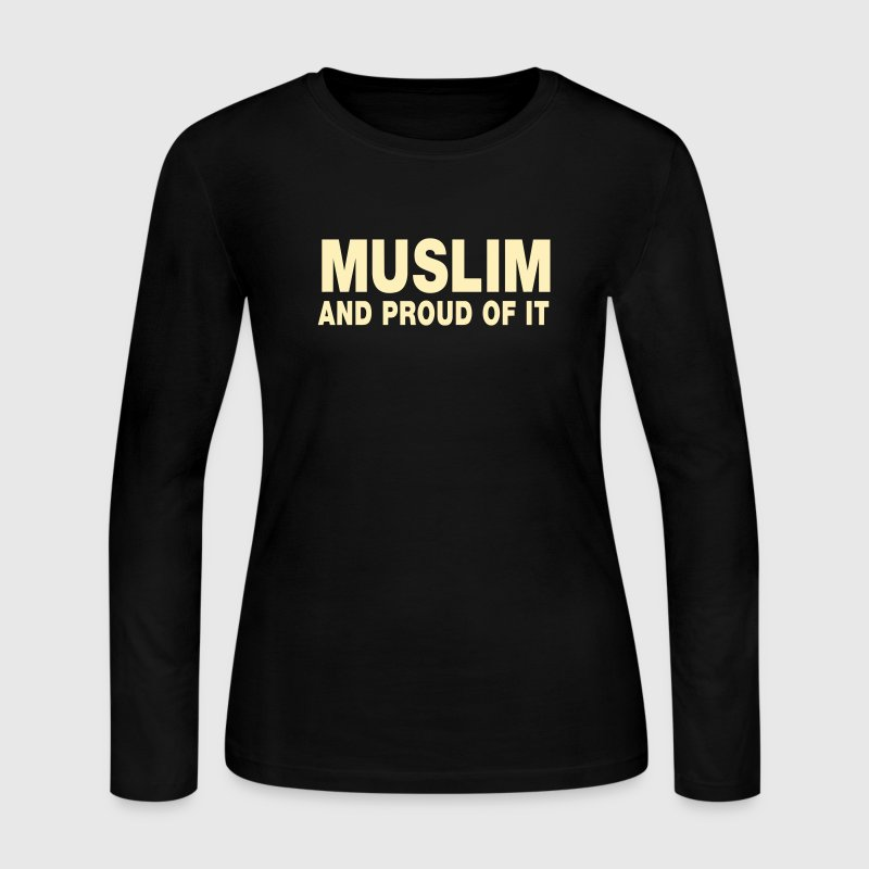 Proud Muslim - Women's Long Sleeve Jersey T-Shirt