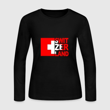 Switzerland - Women's Long Sleeve Jersey T-Shirt