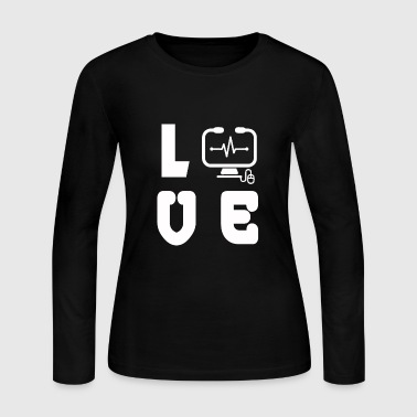 computer - Women's Long Sleeve Jersey T-Shirt