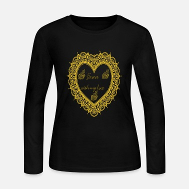 Forever with love T-Shirt - Women's Long Sleeve Jersey T-Shirt