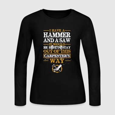 Carpenter Shirt - Women's Long Sleeve Jersey T-Shirt