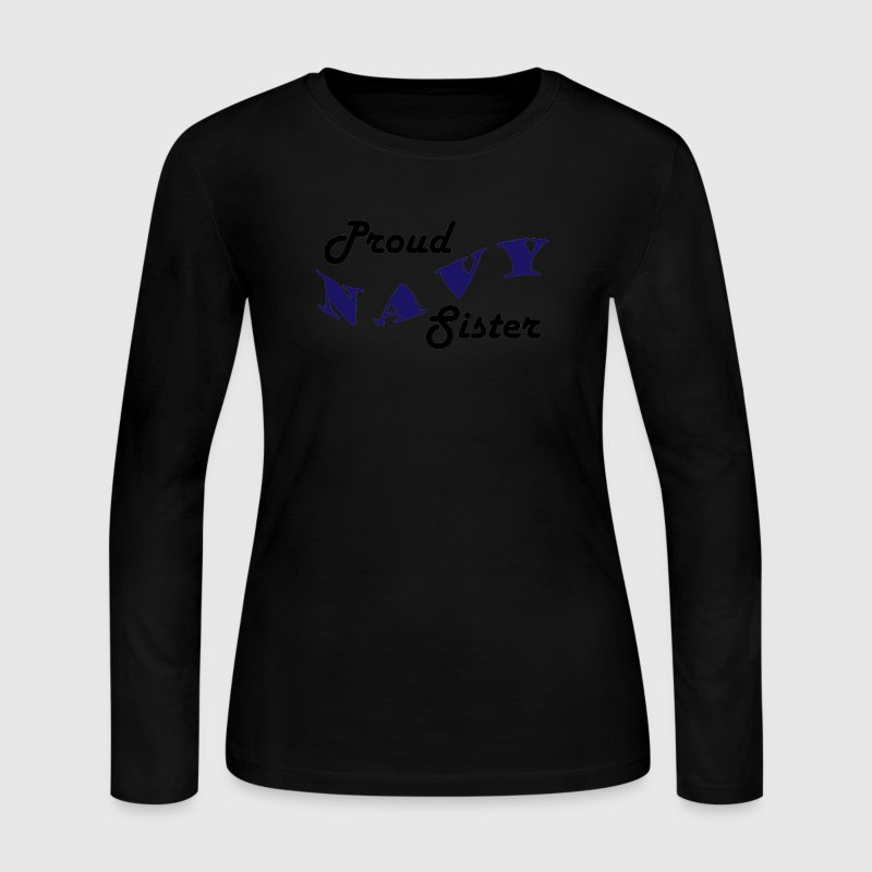 Navy Sister - Women's Long Sleeve Jersey T-Shirt