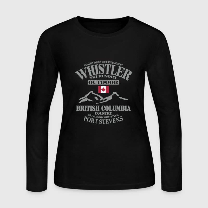 Whistler - Canada Ski Resort - Women's Long Sleeve Jersey T-Shirt