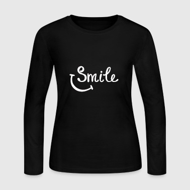 Smile smile - Women's Long Sleeve Jersey T-Shirt