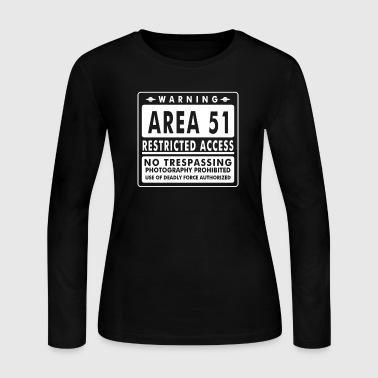 Area 51 - Women's Long Sleeve Jersey T-Shirt
