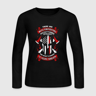 Ex-Firefighter Shirt - Women's Long Sleeve Jersey T-Shirt