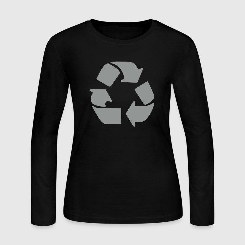 Recycle - Women's Long Sleeve Jersey T-Shirt