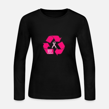 save your cans  - Women's Long Sleeve Jersey T-Shirt
