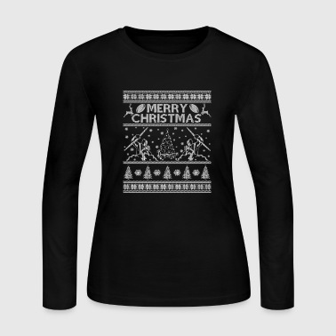Sidney Ugly Christmas sweater for Melbourne storm fans - Women's Long Sleeve Jersey T-Shirt