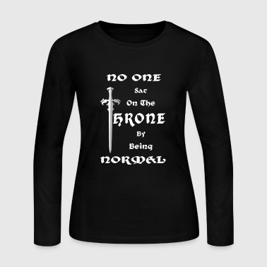 Thrones The Throne - Women's Long Sleeve Jersey T-Shirt