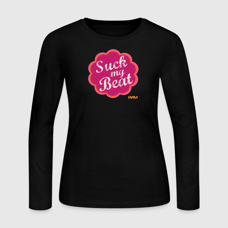 suck my beat by wam - Women's Long Sleeve Jersey T-Shirt