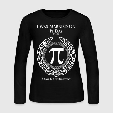 I Was Married On Pi Day Tote Bag - Women's Long Sleeve Jersey T-Shirt