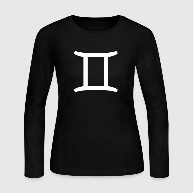 Gemini - Star Sign - Women's Long Sleeve Jersey T-Shirt