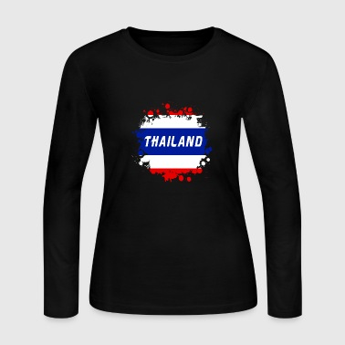 Thailand - Women's Long Sleeve Jersey T-Shirt