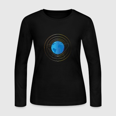 Planet-earth THE PLANET EARTH - Women's Long Sleeve Jersey T-Shirt