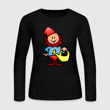 Gnome - Women's Long Sleeve Jersey T-Shirt