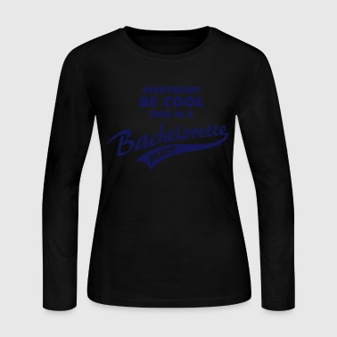 Bachelorette  - Women's Long Sleeve Jersey T-Shirt