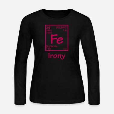 Irony FE Irony - Women's Long Sleeve Jersey T-Shirt