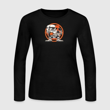 FIGHTING IN THE SANDS - Women's Long Sleeve Jersey T-Shirt