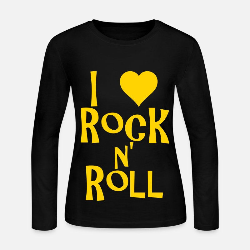 I Love Rock N Roll By Milie Spreadshirt