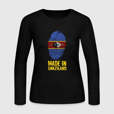 Made In Swaziland / eSwatini - Women's Long Sleeve Jersey T-Shirt