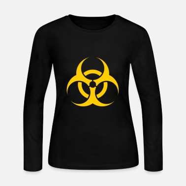 Biohazard Biohazard - Women's Long Sleeve Jersey T-Shirt