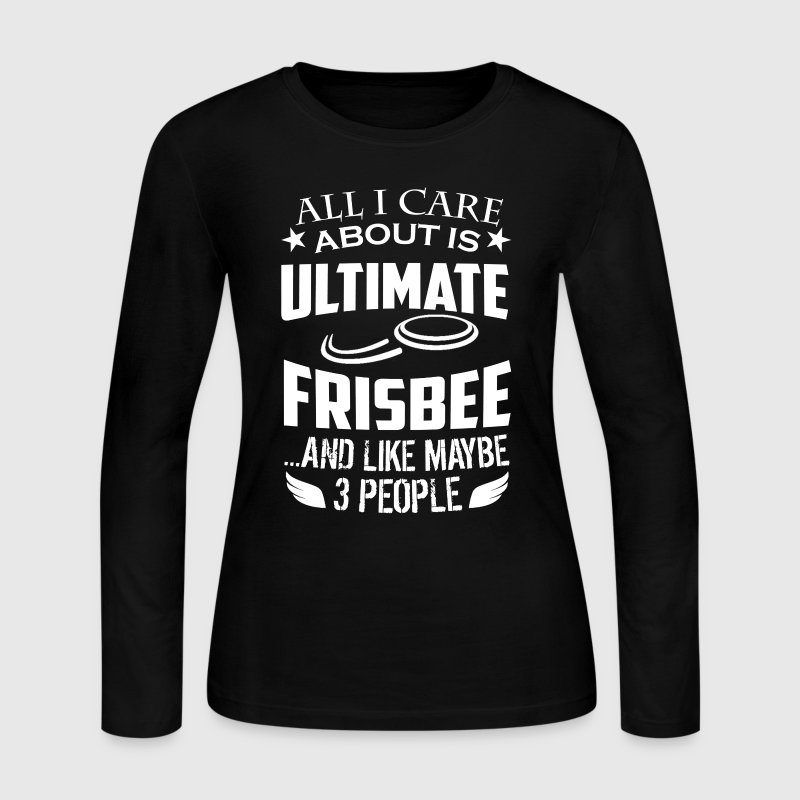 Ultimate Frisbee Tshirt - Women's Long Sleeve Jersey T-Shirt