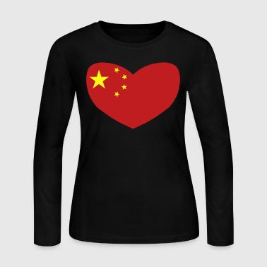 Love China - Women's Long Sleeve Jersey T-Shirt