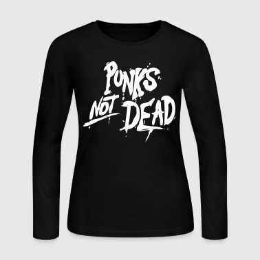 Punk's Not Dead - Women's Long Sleeve Jersey T-Shirt