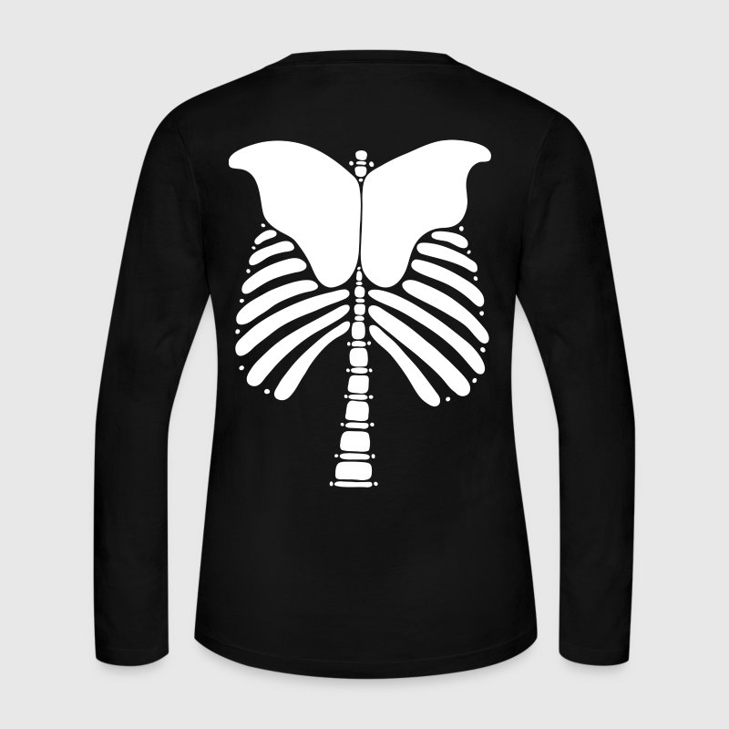 Skeleton Bones - Women's Long Sleeve Jersey T-Shirt