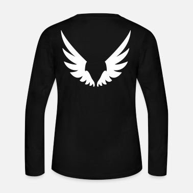 Angel Wings, Angel wings - Women's Long Sleeve Jersey T-Shirt