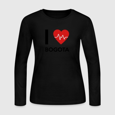 I Love Bogota - Women's Long Sleeve Jersey T-Shirt
