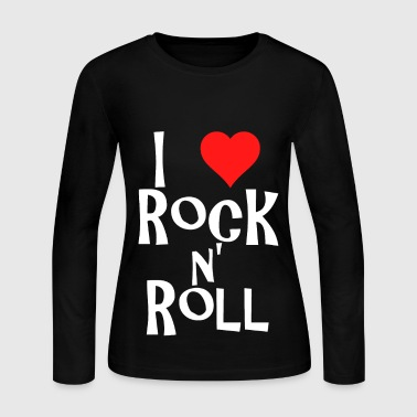 i love rock n' roll - Women's Long Sleeve Jersey T-Shirt