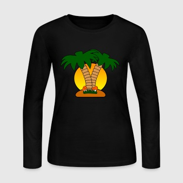 island - Women's Long Sleeve Jersey T-Shirt