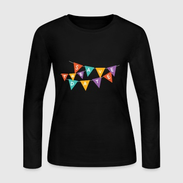 save the date - Women's Long Sleeve Jersey T-Shirt