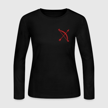 arrow and bow - Women's Long Sleeve Jersey T-Shirt