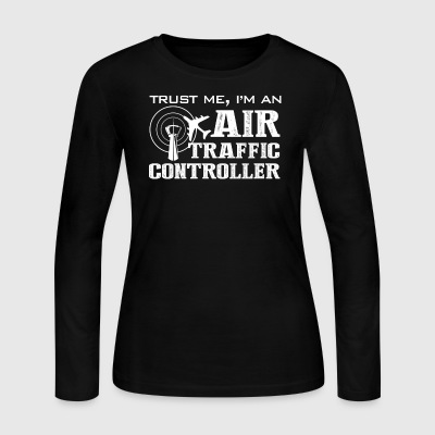 Air Traffic Controller Shirt - Women's Long Sleeve Jersey T-Shirt