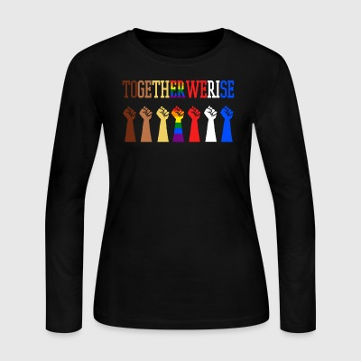 Together We Rise - Women's Long Sleeve Jersey T-Shirt
