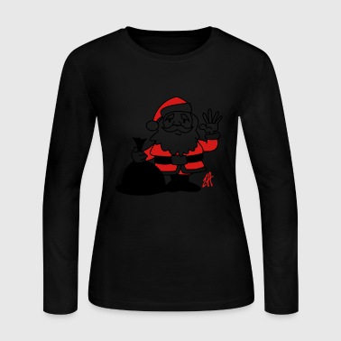 Santa Claus - Women's Long Sleeve Jersey T-Shirt