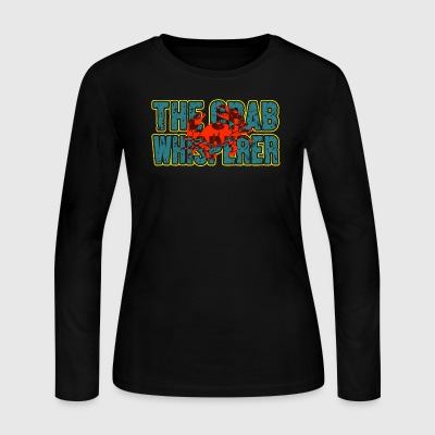 THE CRAB WHISPERER SHIRT - Women's Long Sleeve Jersey T-Shirt
