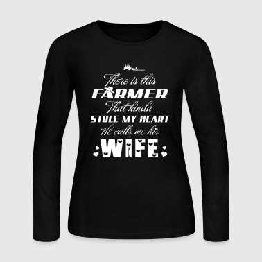 There is this Farmer T Shirts - Women's Long Sleeve Jersey T-Shirt
